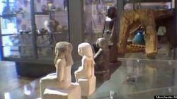 Une statue égyptienne se déplace toute seule au musée de Manchester