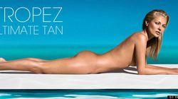 Kate Moss, nue, veut prouver qu'elle n'a aucune trace de bronzage
