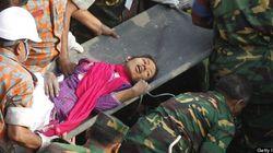 Bangladesh : elle survit 17 jours dans les décombres d'un