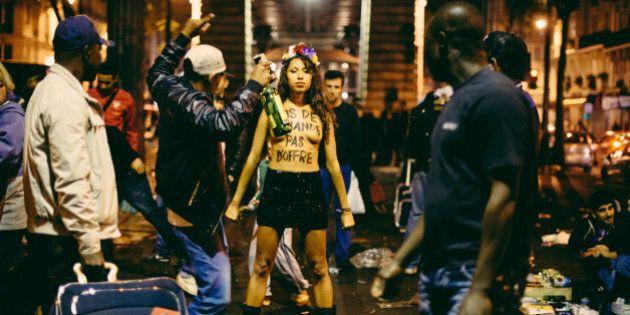 Les Femen contre la prostitution et pour la criminalisation des clients: une campagne choc en France