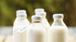 Le lait, pas si blanc que