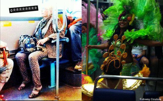 Les voyageurs les plus insolites du métro