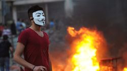 Les protections originales des manifestants