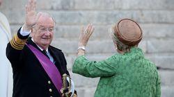 Albert II envoie un «gros kiss» à la reine