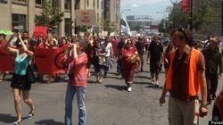 Manifestations pour la Journée nationale des