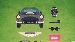 La trousse de «Mad Men», «James Bond», «Pulp