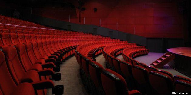 desolate red cinema