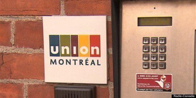 Union Montréal annonce sa