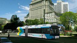 Des trolleybus à Montréal en
