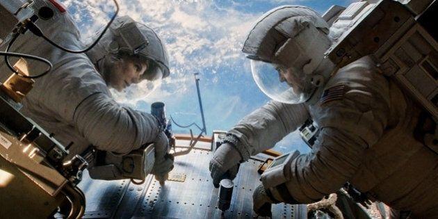 Buzz Aldrin juge le film «Gravity» avec George Clooney et Sandra
