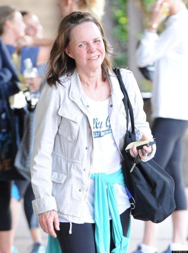 Sally Field sans maquillage: la star de «Lincoln» sort du gym au naturel