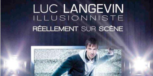 «Réellement sur scène» : Luc Langevin méduse et
