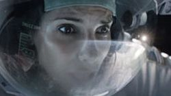 «Gravity», avec Sandra Bullock et George Clooney, flotte au sommet du