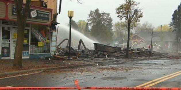 Le maire de Saint-Donat évoque la possibilité d'un incendie