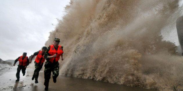 Le typhon Fitow force l'évacuation de 417 000 personnes en