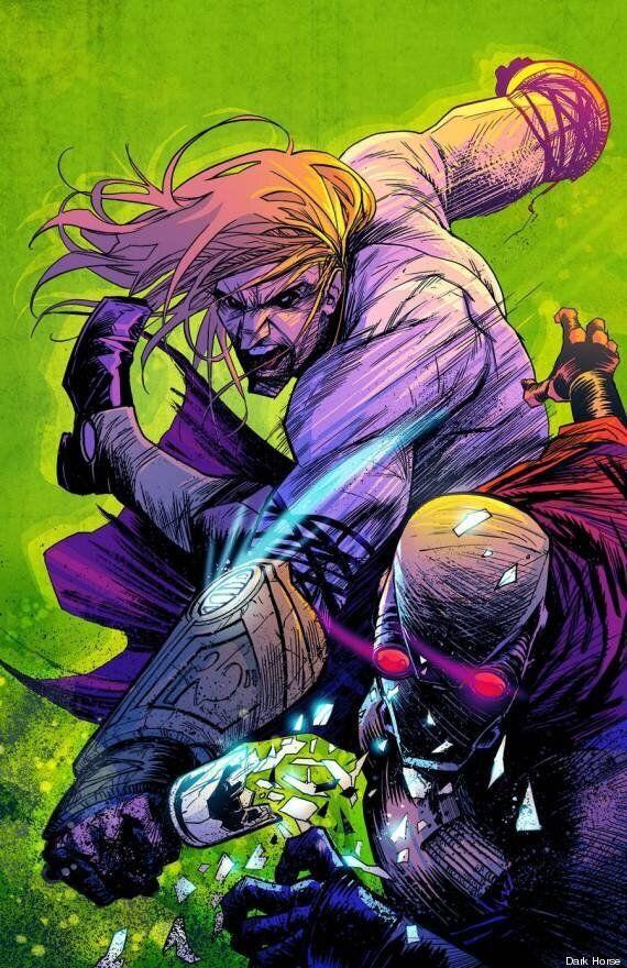 Un super-héros tient ses pouvoirs des drogues et de l'alcool dans le nouveau comics Buzzkill