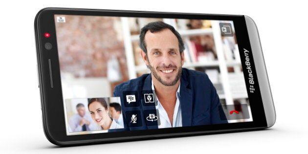 BlackBerry dévoile son nouveau téléphone intelligent, le BlackBerry