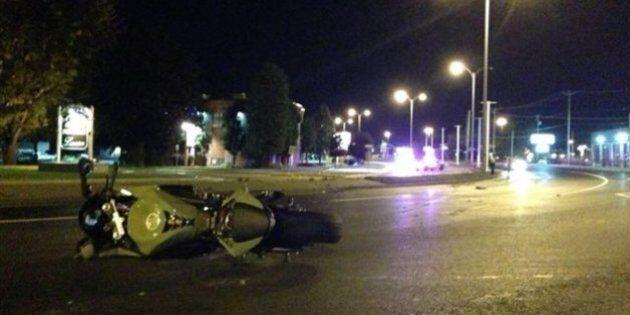 Un motocycliste meurt à 200 km/h dans une zone de