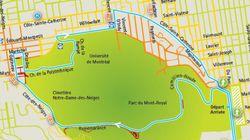 Grand Prix cycliste de Montréal: la carte des rues