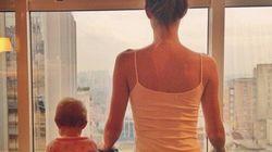 Gisele Bündchen apprend le yoga à sa fille de 9 mois