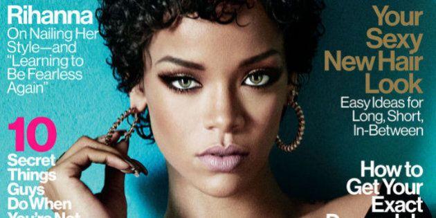 Rihanna affiche ses cheveux bouclés naturels sur la une du magazine