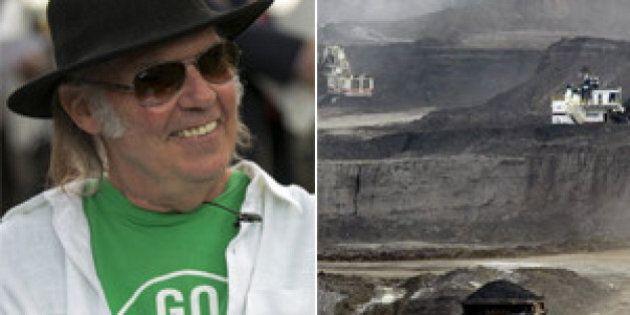 Neil Young compare la région des sables bitumineux albertains à