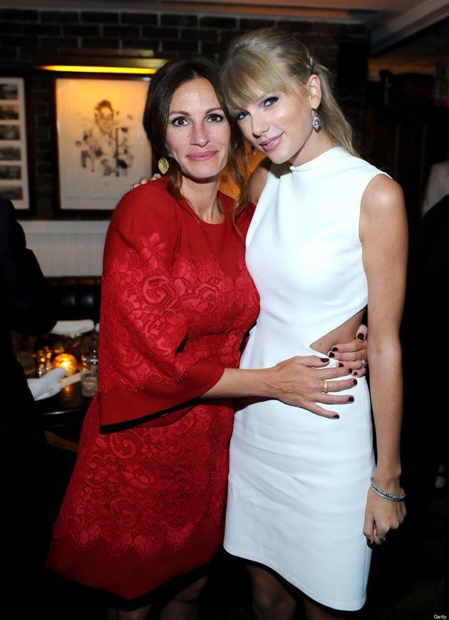 Une première appariton au Festival du film de Toronto pour Julia Roberts et Taylor Swift
