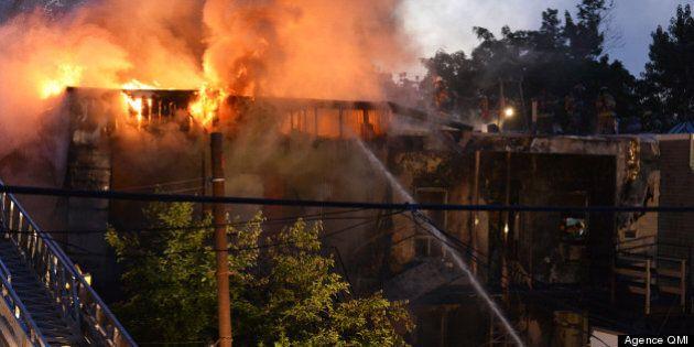 Un grave incendie ravage plusieurs logements à