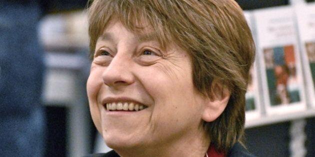 Description fr:Françoise David | Françoise David , lors du Salon international du livre de Québec 2012...