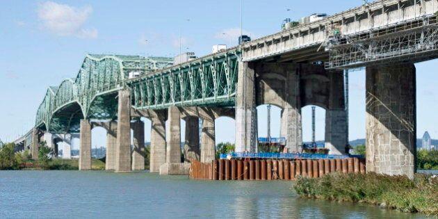 Un péage sur le futur pont