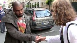 Kanye West se ridiculise devant un paparazzi à Paris