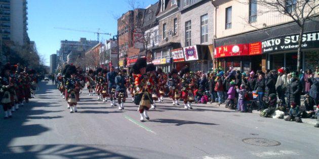 Défilé de la Saint-Patrick à Montréal!