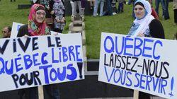 La manif contre la charte des valeurs réclame un «Québec