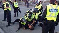 Des manifestants contre P-6 arrêtés à