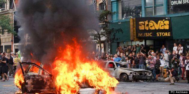 Émeutes du G20 à Toronto: un Américain est accusé après son