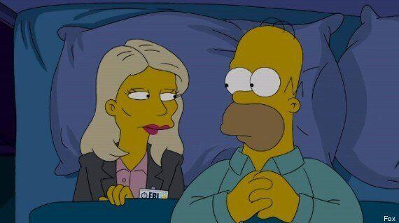 Les Simpson parodient le générique de Homeland