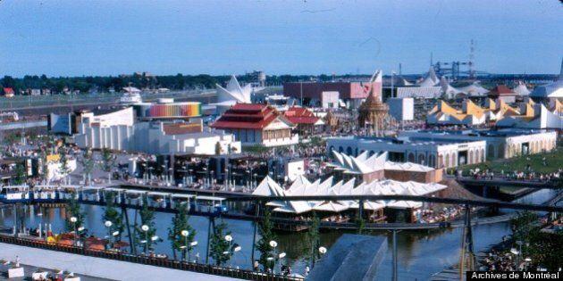 Photos de l'Expo 67 à Montréal: c'était l'année de l'amour, c'était l'année de