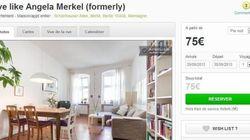 Louer l'ancien appartement d'Angela Merkel à Berlin, c'est