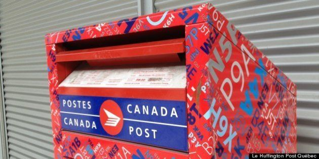 Postes Canada ferait face à des pertes d'un milliard $ par an selon un