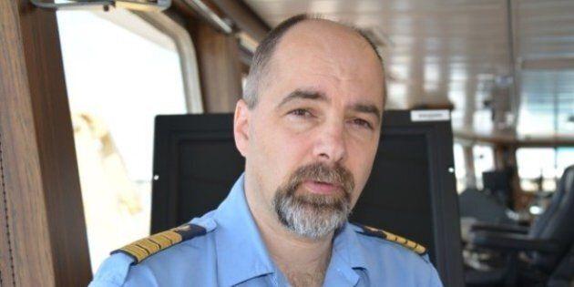 L'épave d'un hélicoptère de la Garde côtière a été repérée dans