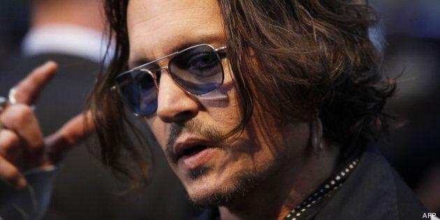Johnny Depp donne son nom à un fossile aux pinces en forme de