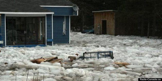 Inondations au Saguenay: 35 résidences