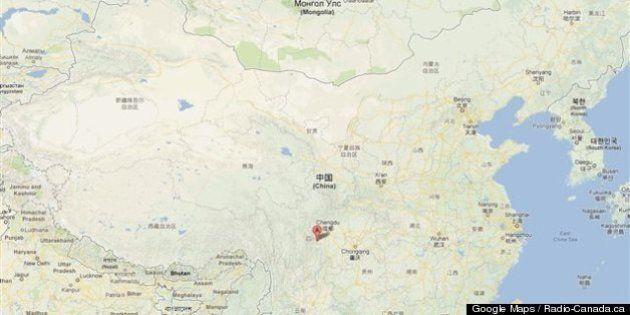 Chine: séisme de magnitude 6,6 dans la province du