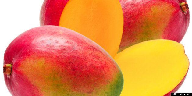 mango isolated on