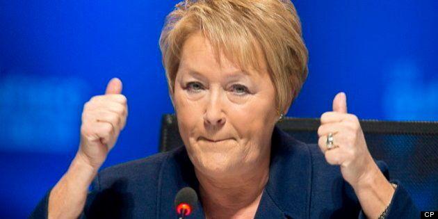Marois: le Québec a un surplus pour le maintien de l'équilibre