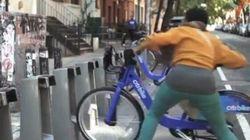 Les problèmes du Bixi de New York diffusés sur Internet