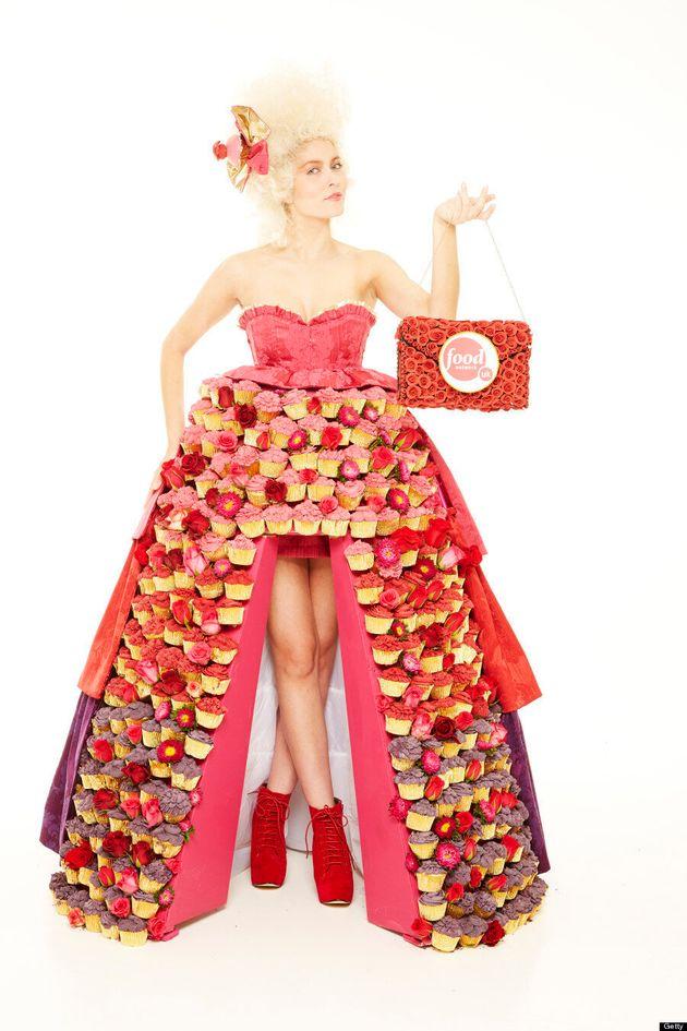 Une robe faite de cupcakes pour la somme de 1230 $