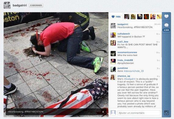 Marathon de Boston: les réactions des stars