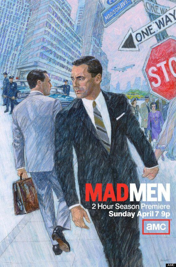 «Mad Men», l'affiche de la saison 6 dans le même style que la série