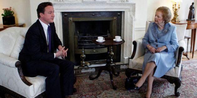Héritage de Thatcher: David Cameron revendique la succession de la Dame de